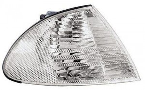 1999-2003 BMW 325i Side Repeater Light (Coupe/Convertible / White Lens / to 3/03) - Right (Passenger)