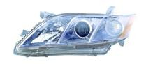 2007 - 2009 Toyota Camry Hybrid Front Headlight Assembly Replacement Housing / Lens / Cover - Left (Driver)