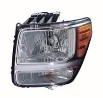 2007 - 2011 Dodge Nitro Front Headlight Assembly Replacement Housing / Lens / Cover - Left (Driver)