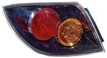 2004 - 2006 Mazda 3 Mazda3 Rear Tail Light Assembly Replacement (Hatchback + without LED) - Left (Driver)