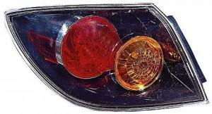 2004-2006 Mazda 3 Mazda3 Tail Light Rear Lamp (Hatchback / without LED) - Left (Driver)