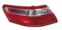 2007 - 2009 Toyota Camry Tail Light Rear Lamp (Outer Lamps + Japan) - Left (Driver)