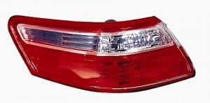 2007-2009 Toyota Camry Tail Light Rear Brake Lamp (Outer Brake Lamps / Japan) - Left (Driver)