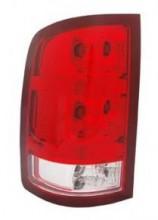 2010-2012 GMC Sierra Pickup Tail Light Rear Lamp - Left (Driver)