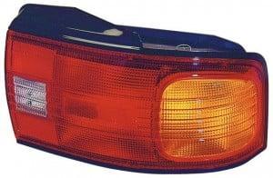 1992-1994 Mazda Protege Tail Light Rear Brake Lamp - Right (Passenger)