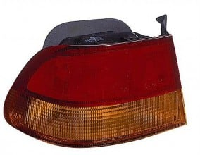 1996-1998 Honda Civic Tail Light Rear Brake Lamp (Coupe / Quarter Panel Mounted) - Left (Driver)