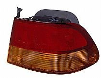 1996 - 1998 Honda Civic Tail Light Rear Lamp (Coupe + Quarter Panel Mounted) - Right (Passenger)