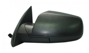 2010-2011 Chevrolet (Chevy) Equinox Side View Mirror (Power Remote / Non-Heated) - Left (Driver)
