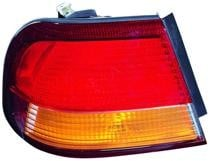 1997 - 1999 Nissan Maxima Rear Tail Light Assembly Replacement (Body Mounted + OEM# 26555-0L725) - Left (Driver)