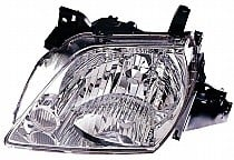 2002 - 2003 Mazda MPV Front Headlight Assembly Replacement Housing / Lens / Cover - Left (Driver)