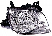 2002 - 2003 Mazda MPV Front Headlight Assembly Replacement Housing / Lens / Cover - Right (Passenger)