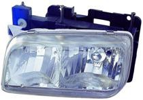 1999 - 2000 Cadillac Escalade Front Headlight Assembly Replacement Housing / Lens / Cover - Left (Driver)