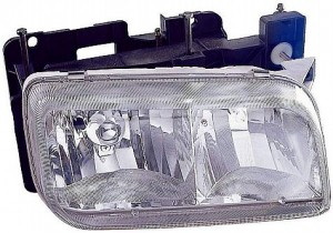 1992-2000 GMC Yukon Headlight Assembly - Right (Passenger)