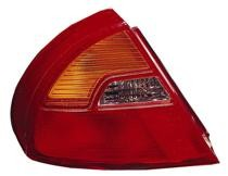 1999 - 2002 Mitsubishi Mirage Rear Tail Light Assembly Replacement / Lens / Cover - Left (Driver)