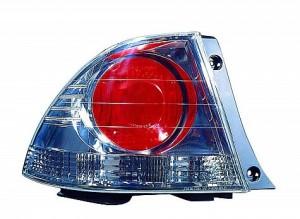 2002-2003 Lexus IS300 Tail Light Rear Lamp (Sedan / Quarter Panel Mounted / Metallic) - Left (Driver)