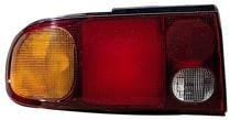 1993 - 1996 Mitsubishi Mirage Rear Tail Light Assembly Replacement / Lens / Cover - Left (Driver)