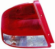 2004 - 2006 Chevrolet (Chevy) Aveo Rear Tail Light Assembly Replacement / Lens / Cover - Right (Passenger)