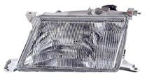 1995 - 1997 Lexus LS400 Front Headlight Assembly Replacement Housing / Lens / Cover - Left (Driver)