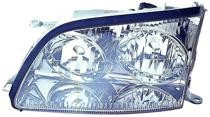 1998 - 2000 Lexus LS400 Front Headlight Assembly Replacement Housing / Lens / Cover - Left (Driver)