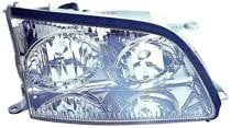1998 - 2000 Lexus LS400 Front Headlight Assembly Replacement Housing / Lens / Cover - Right (Passenger)