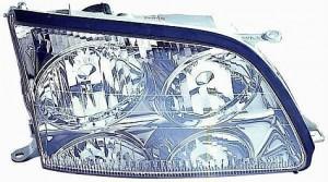 1998-2000 Lexus LS400 Headlight Assembly - Right (Passenger)