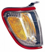 2001-2004 Toyota Tacoma Corner Light (Park/Marker Combo / with Red Bezel (Paint Code 3L5) - Right (Passenger)