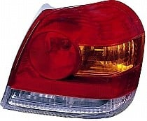 2003 - 2005 Toyota Echo Rear Tail Light Assembly Replacement / Lens / Cover - Right (Passenger)