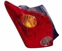 2004 - 2005 Scion xA Tail Light Rear Lamp - Left (Driver)