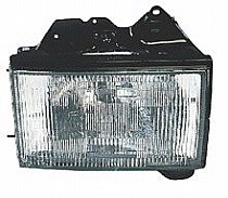 1992 - 1997 Isuzu Trooper + Trooper II Front Headlight Assembly Replacement Housing / Lens / Cover - Right (Passenger)