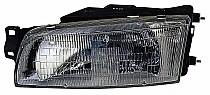 1993 - 1996 Mitsubishi Mirage Headlight Assembly (Sedan) - Left (Driver)