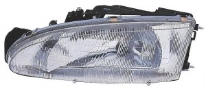 1993-1996 Mitsubishi Mirage Headlight Assembly (Coupe) - Left (Driver)