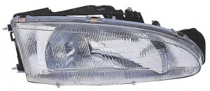 1993-1996 Mitsubishi Mirage Headlight Assembly (Coupe) - Right (Passenger)