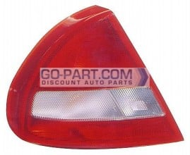1997-1998 Mitsubishi Mirage Tail Light Rear Lamp - Left (Driver)
