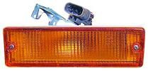 1988 - 1989 Nissan Pickup Bumper Parking + Signal Light (1 Ton) - Left (Driver)