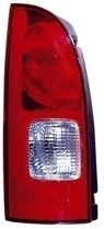 2001 - 2002 Nissan Quest Van Rear Tail Light Assembly Replacement / Lens / Cover - Left (Driver)