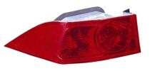 2004 - 2005 Acura TSX Tail Light Rear Lamp - Left (Driver)