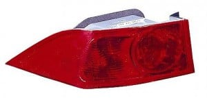 2004-2005 Acura TSX Tail Light Rear Lamp - Left (Driver)