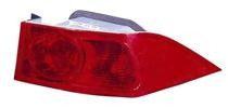 2004 - 2005 Acura TSX Rear Tail Light Assembly Replacement / Lens / Cover - Right (Passenger)