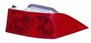 2004-2005 Acura TSX Tail Light Rear Lamp - Right (Passenger)