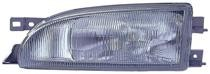 1993 - 1996 Subaru Impreza Front Headlight Assembly Replacement Housing / Lens / Cover - Left (Driver)