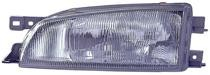 1997 - 1998 Subaru Impreza Front Headlight Assembly Replacement Housing / Lens / Cover - Left (Driver)