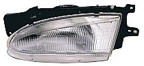 1995-1997 Hyundai Accent Headlight Assembly - Left (Driver)