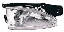 1995 - 1999 Hyundai Accent Headlight Assembly - Right (Passenger)