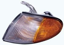 1995 - 1997 Hyundai Accent Parking + Signal + Marker Light Assembly Replacement / Lens Cover - Right (Passenger)