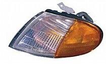 1996 - 1997 Hyundai Elantra Corner Light Assembly Replacement / Lens Cover - Left (Driver)