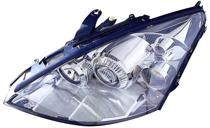 2002 - 2003 Ford Focus Headlight Assembly (HID Lamps) - Left (Driver)