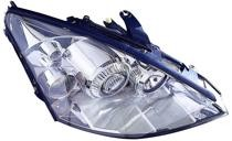 2004 - 2005 Ford Focus Front Headlight Assembly Replacement Housing / Lens / Cover - Right (Passenger)