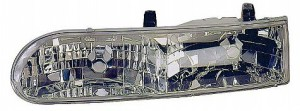 1992-1995 Ford Taurus Headlight Assembly (LX/SE / Includes Parklamp) - Left (Driver)