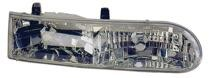 1992 - 1995 Ford Taurus Headlight Assembly (LX/SE + Includes Parklamp) - Right (Passenger)