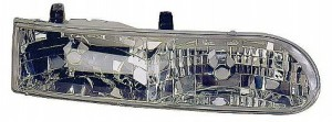 1992-1995 Ford Taurus Headlight Assembly (LX/SE / Includes Parklamp) - Right (Passenger)